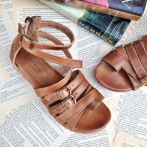 BED STU Miya Leather Strappy Sandals